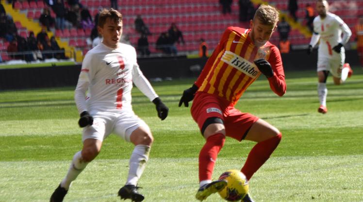 Hes Kablo Kayserispor Fraport TAV Antalyaspor maç özeti