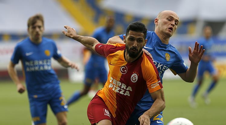 MKE Ankaragücü Galatasaray maç özeti