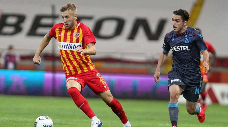 Hes Kablo Kayserispor Trabzonspor maç özeti