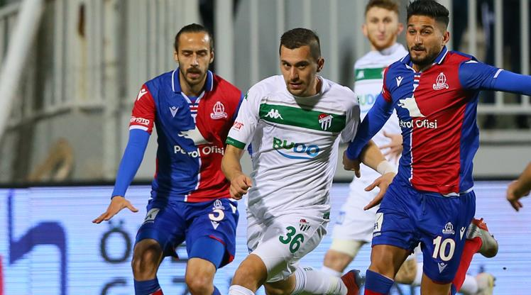 Altınordu Bursaspor maç özeti