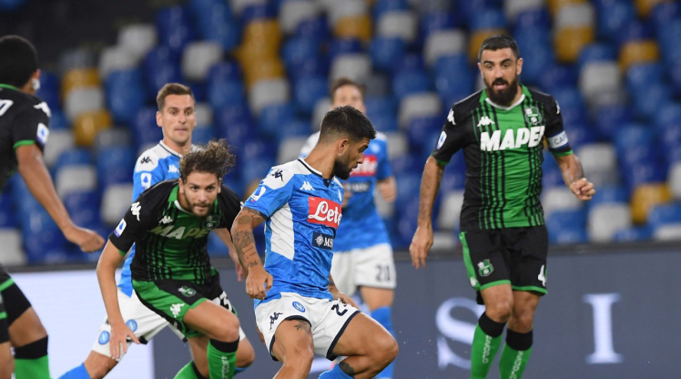 Napoli Sassuolo maç özeti