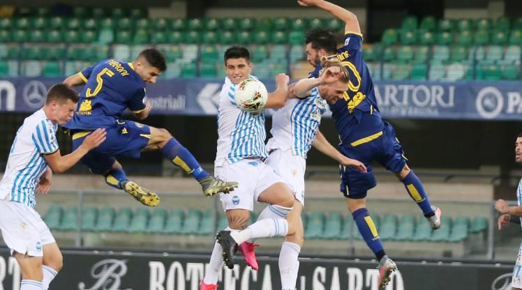 Hellas Verona Spal maç özeti