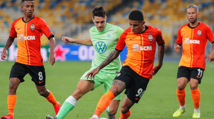 Shakhtar Donetsk Vfl Wolfsburg maç özeti
