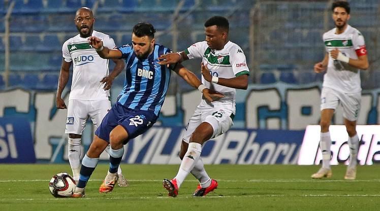 Adana Demirspor Bursaspor maç özeti