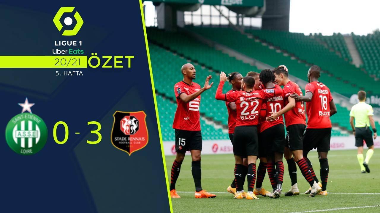 Saint Etienne Rennes maç özeti
