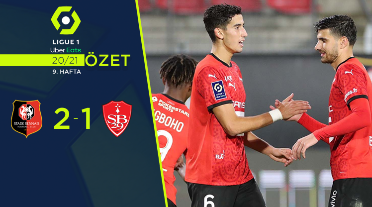 Rennes Stade Brest 29 maç özeti
