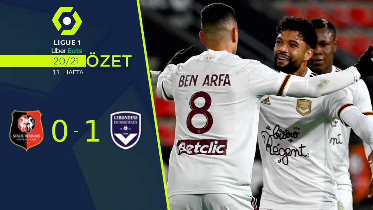 Rennes Bordeaux maç özeti