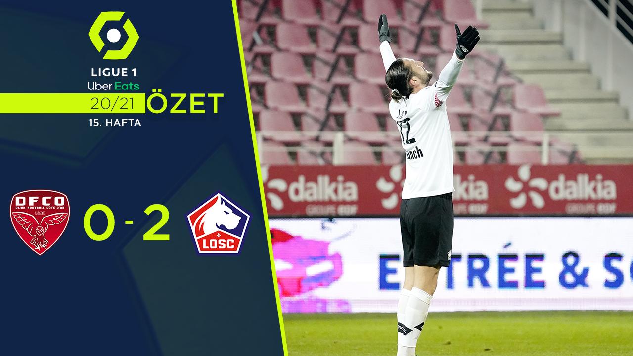 Dijon Lille maç özeti