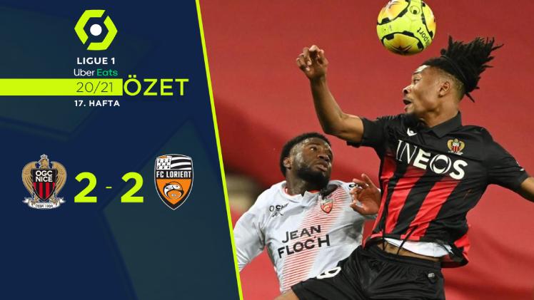 Nice Lorient maç özeti