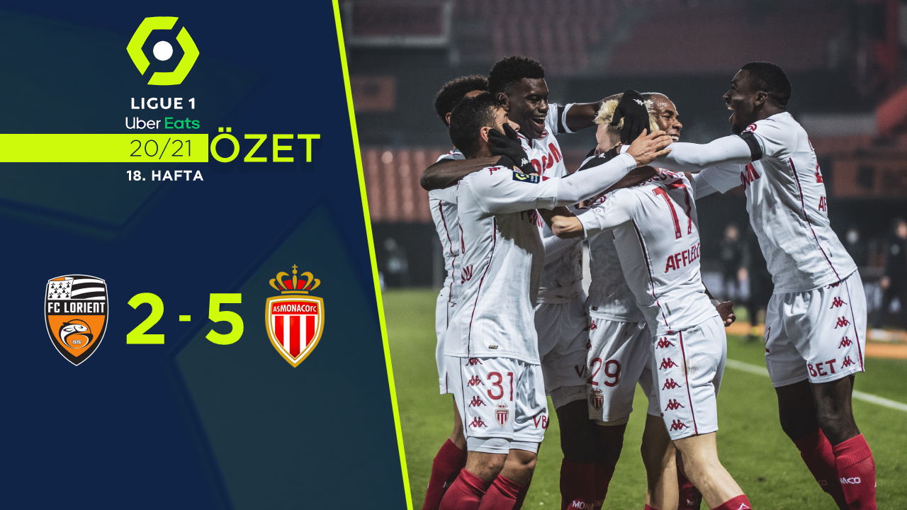 Lorient Monaco maç özeti