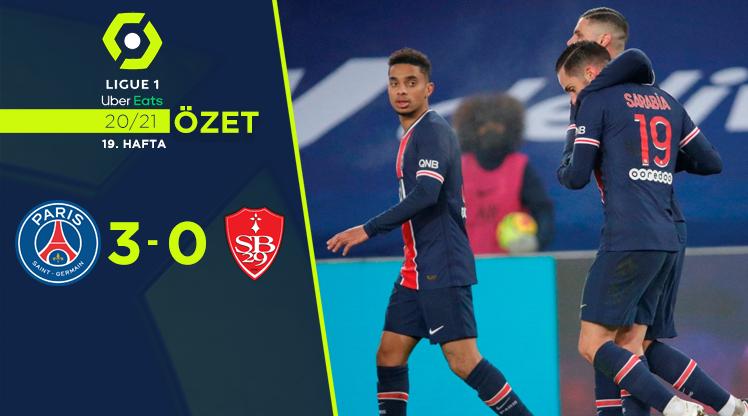 Paris St Germain Stade Brest 29 maç özeti