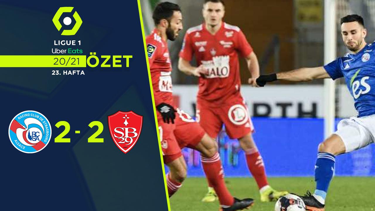 Strasbourg Stade Brest 29 maç özeti