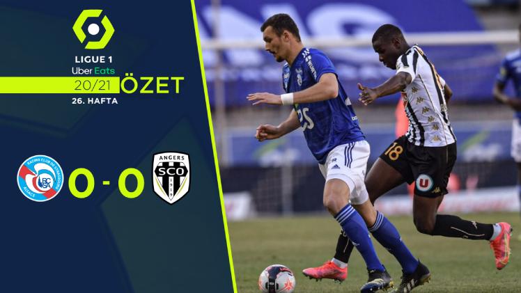 Strasbourg Angers maç özeti