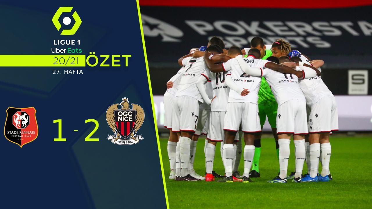 Rennes Nice maç özeti