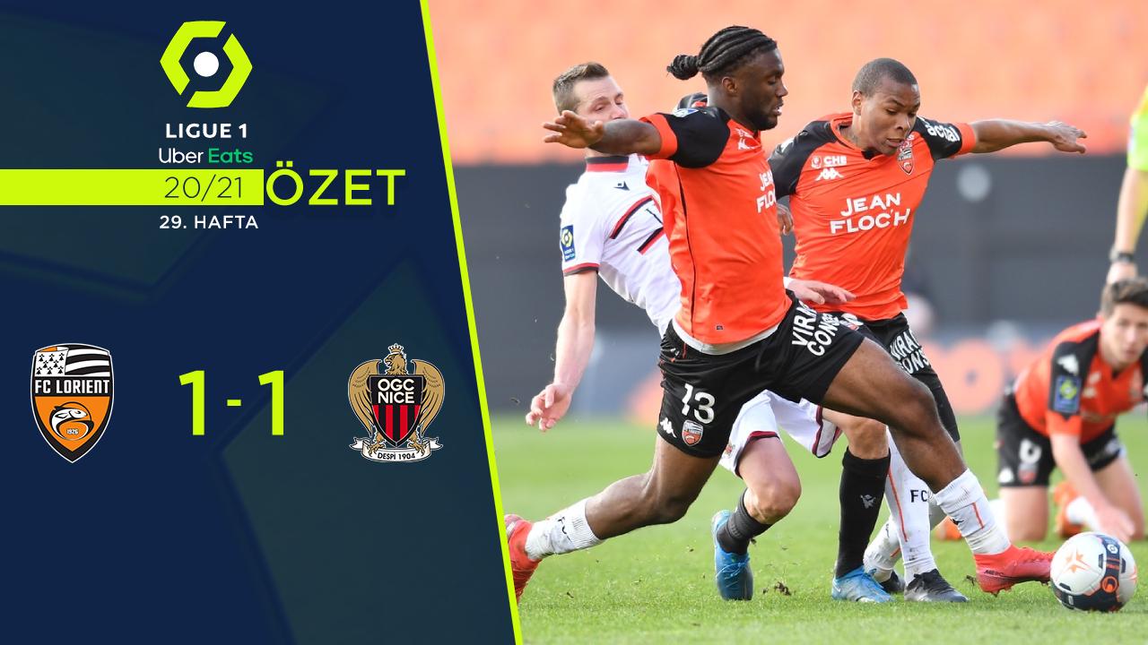 Lorient Nice maç özeti