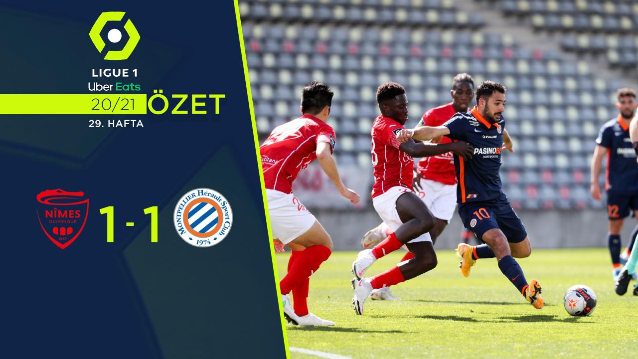 Nimes Olympique Montpellier maç özeti