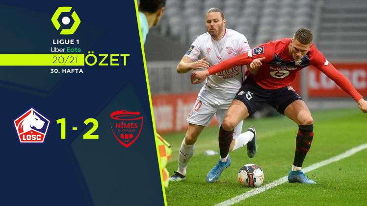 Lille Nimes Olympique maç özeti
