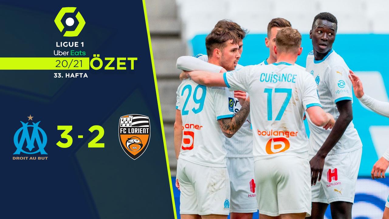 Marsilya Lorient maç özeti