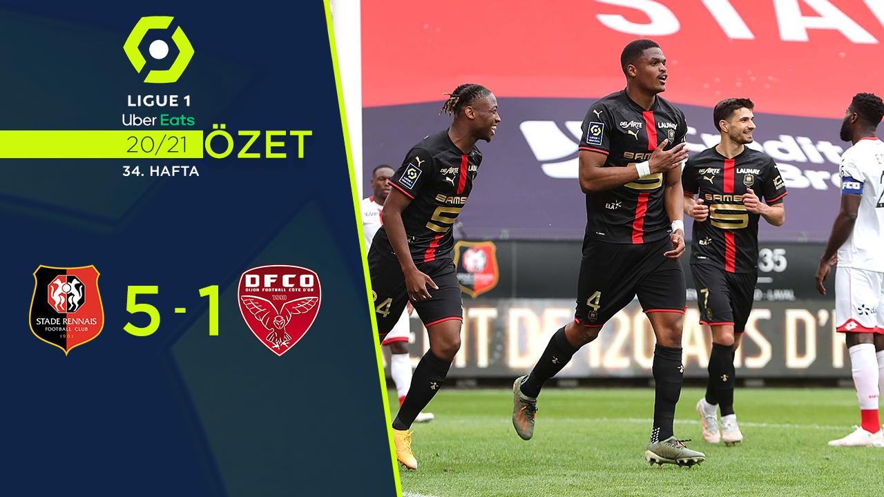Rennes Dijon maç özeti
