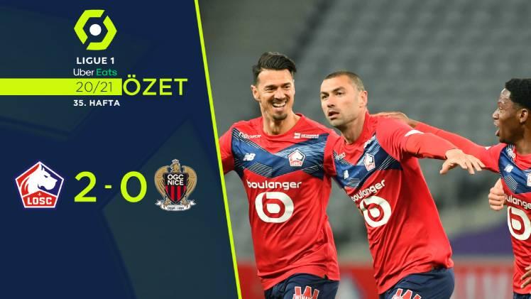 Lille Nice maç özeti
