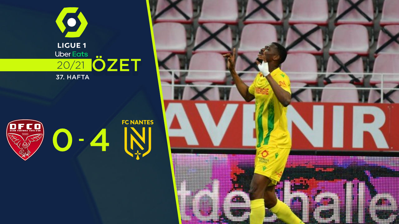 Dijon Nantes maç özeti