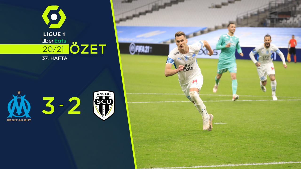Marsilya Angers maç özeti