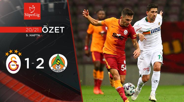 Galatasaray Aytemiz Alanyaspor maç özeti