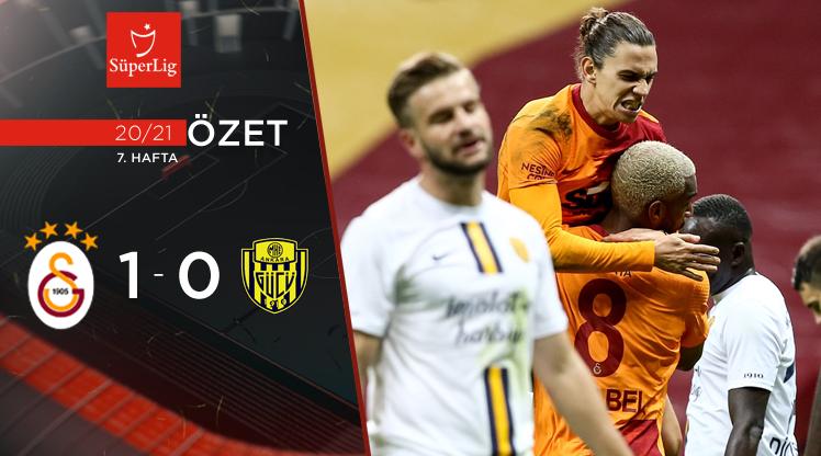 Galatasaray MKE Ankaragücü maç özeti