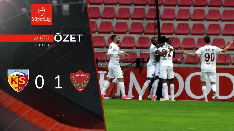 Hes Kablo Kayserispor Atakaş Hatayspor maç özeti