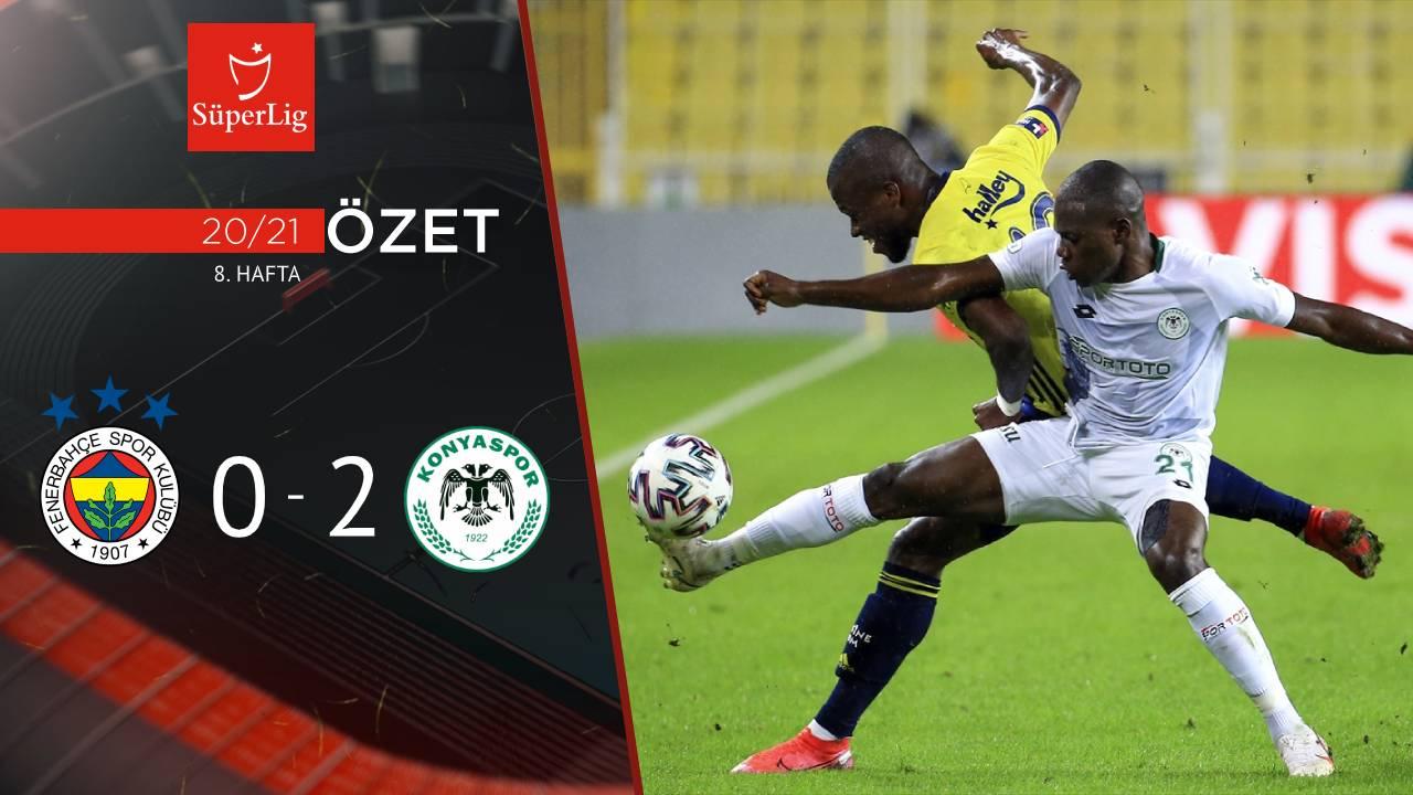 Fenerbahçe İttifak Holding Konyaspor maç özeti