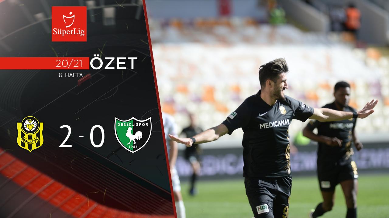 Yeni Malatyaspor Yukatel Denizlispor maç özeti