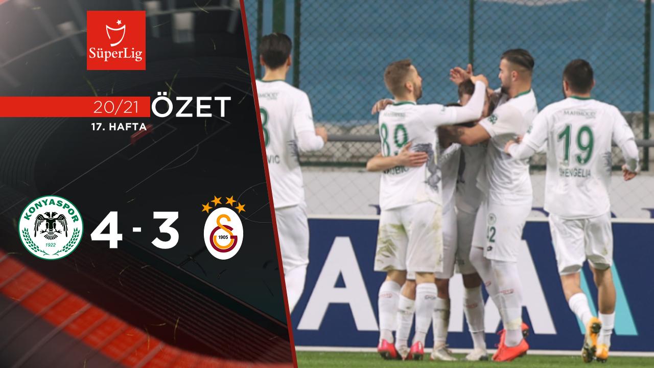 İttifak Holding Konyaspor Galatasaray maç özeti