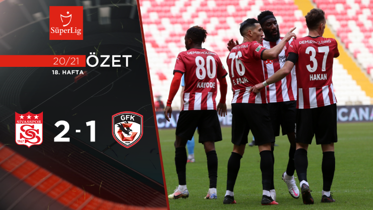Demir Grup Sivasspor Gaziantep FK maç özeti