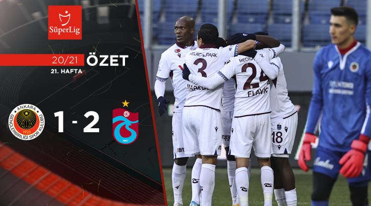 Gençlerbirliği Trabzonspor maç özeti