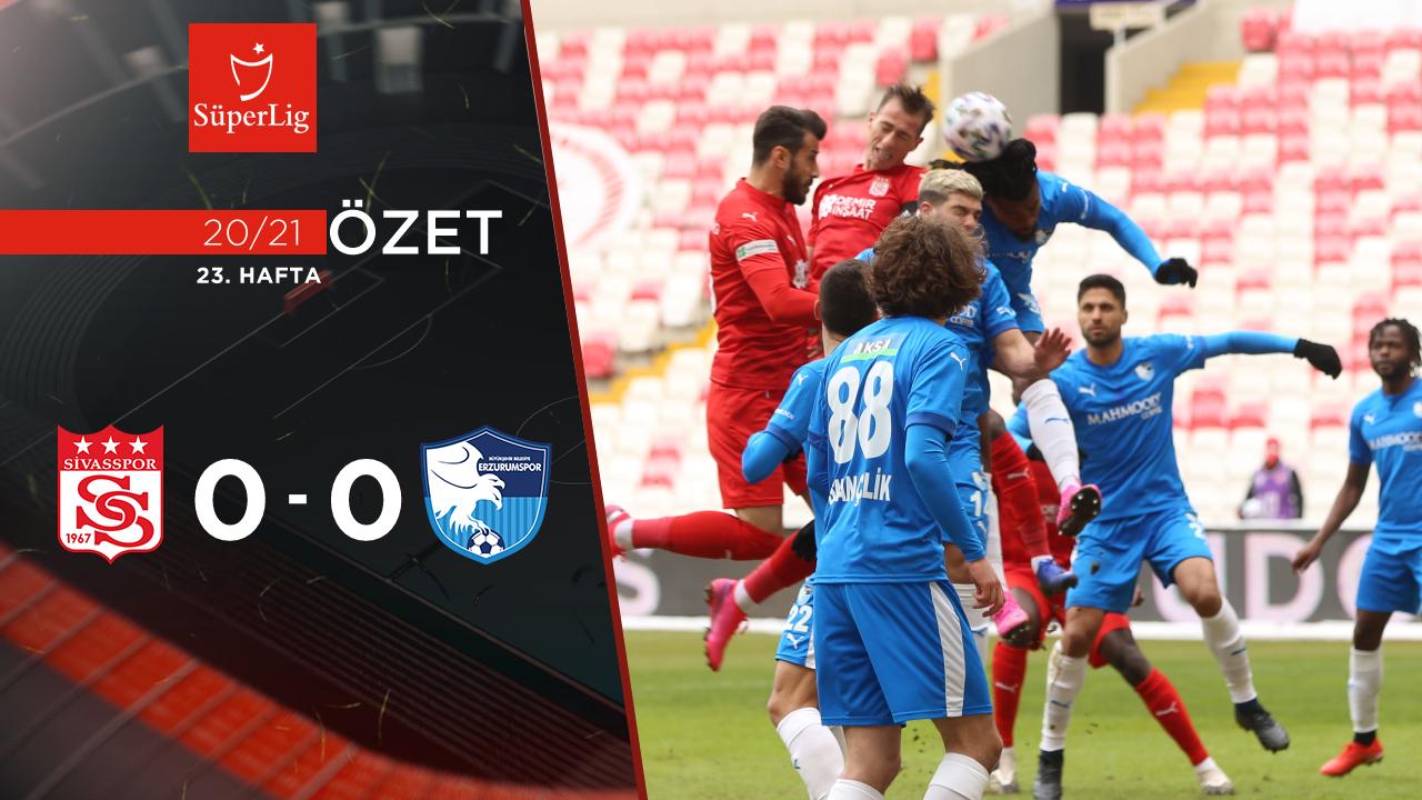 Demir Grup Sivasspor BB Erzurumspor maç özeti