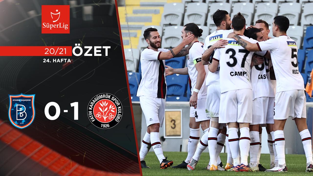 Medipol Başakşehir Fatih Karagümrük maç özeti