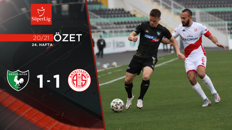 Yukatel Denizlispor Fraport TAV Antalyaspor maç özeti