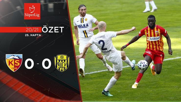 Hes Kablo Kayserispor MKE Ankaragücü maç özeti
