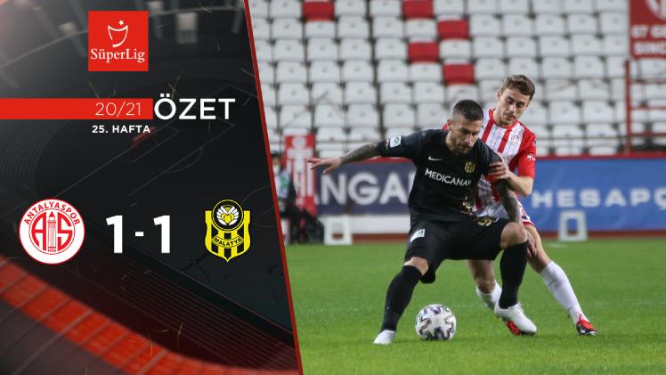 Fraport TAV Antalyaspor Yeni Malatyaspor maç özeti