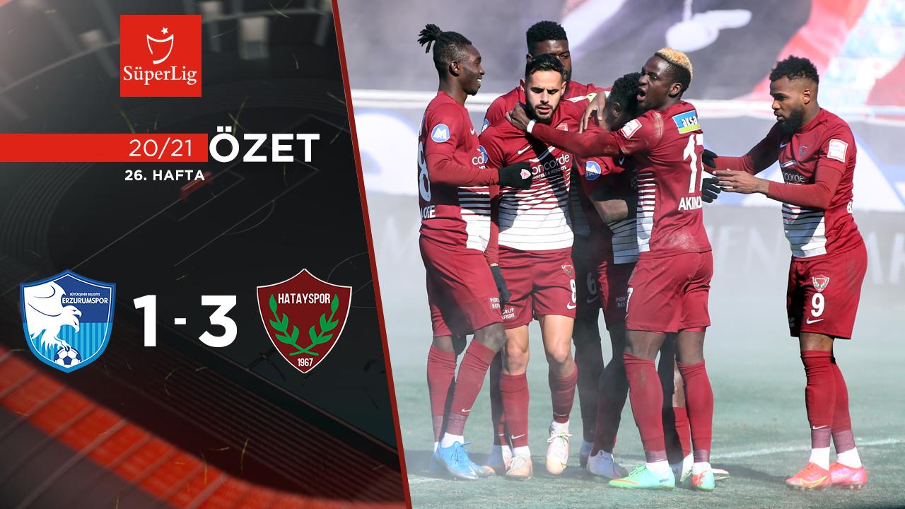 BB Erzurumspor Atakaş Hatayspor maç özeti