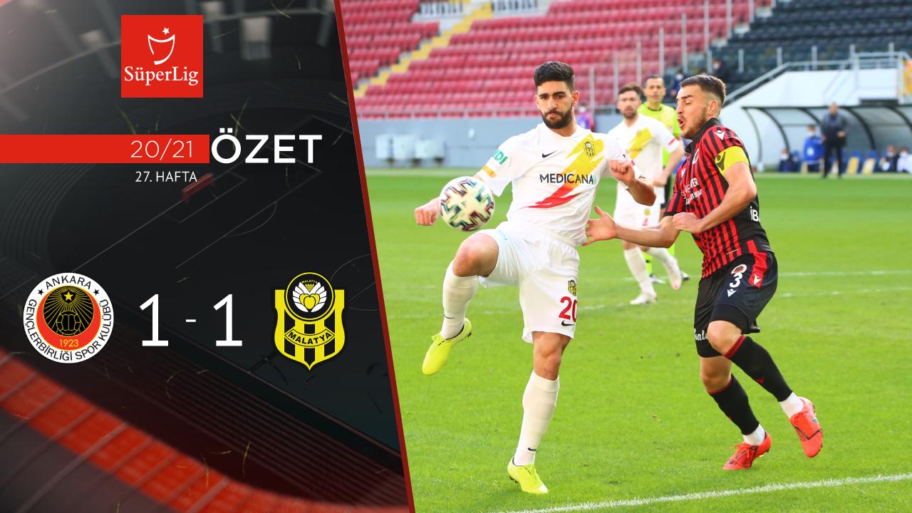 Gençlerbirliği Yeni Malatyaspor maç özeti