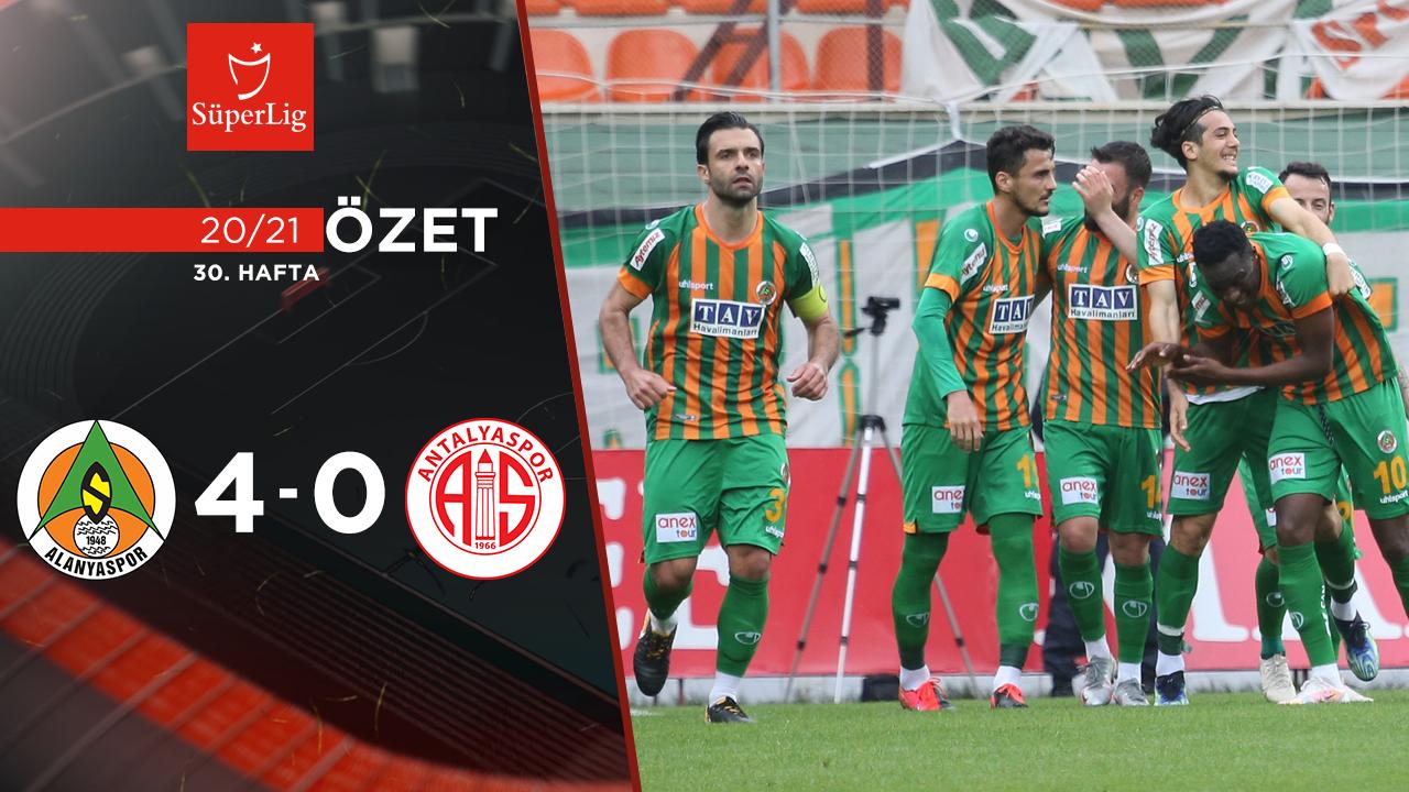 Aytemiz Alanyaspor Fraport TAV Antalyaspor maç özeti
