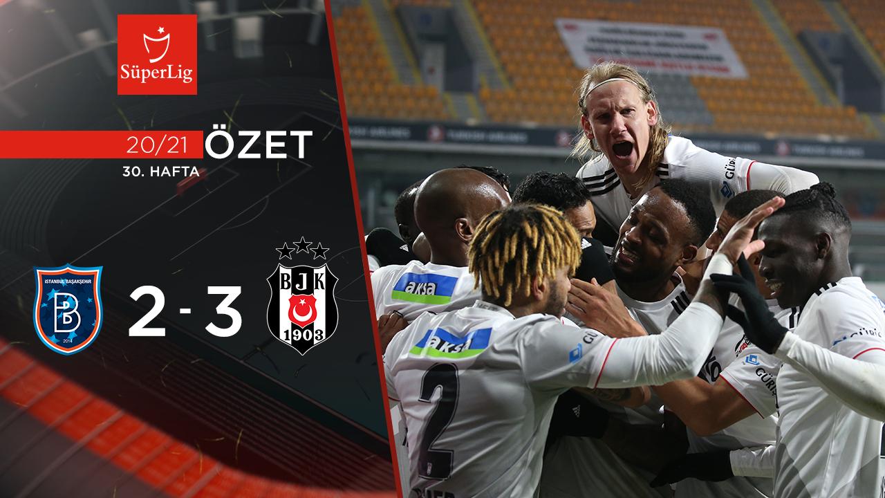 Medipol Başakşehir Beşiktaş maç özeti
