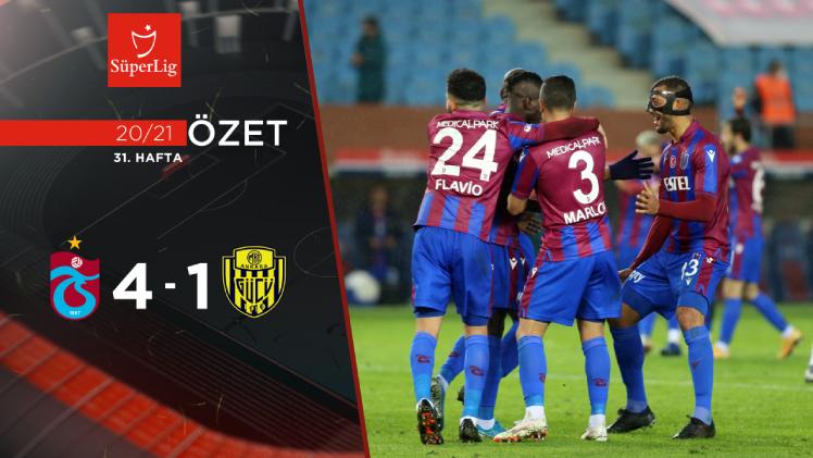 Trabzonspor MKE Ankaragücü maç özeti