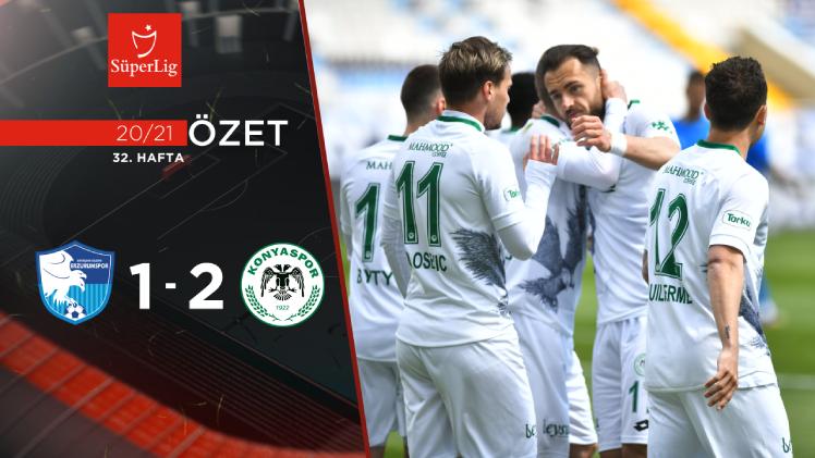 BB Erzurumspor İttifak Holding Konyaspor maç özeti
