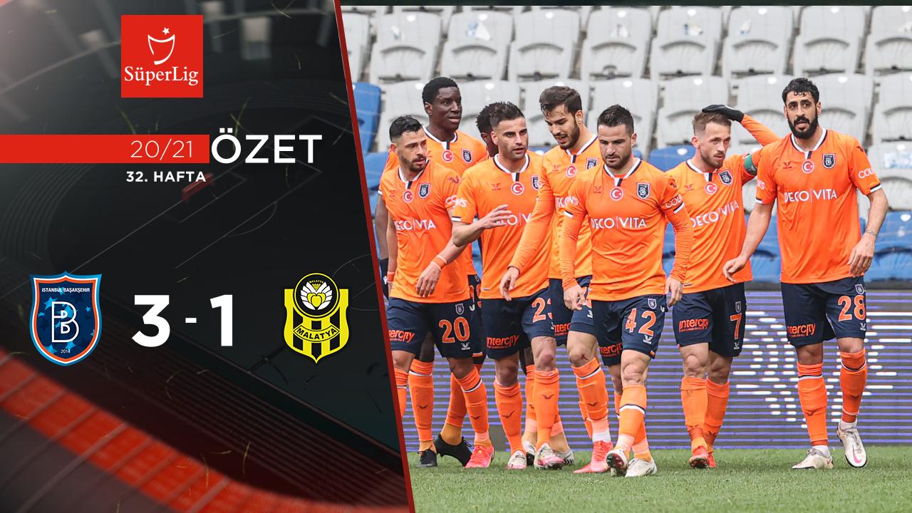 Medipol Başakşehir Helenex Yeni Malatyaspor maç özeti