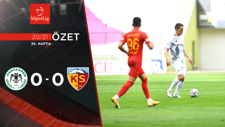İttifak Holding Konyaspor Hes Kablo Kayserispor maç özeti