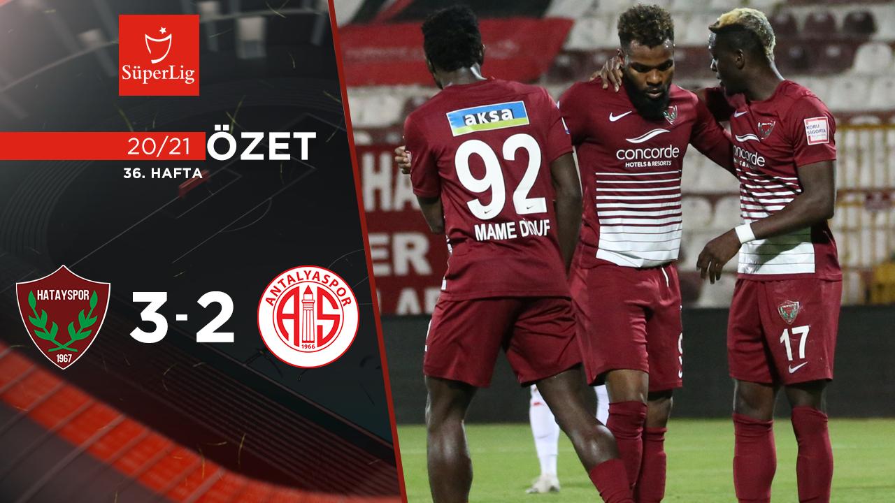 Atakaş Hatayspor Fraport TAV Antalyaspor maç özeti