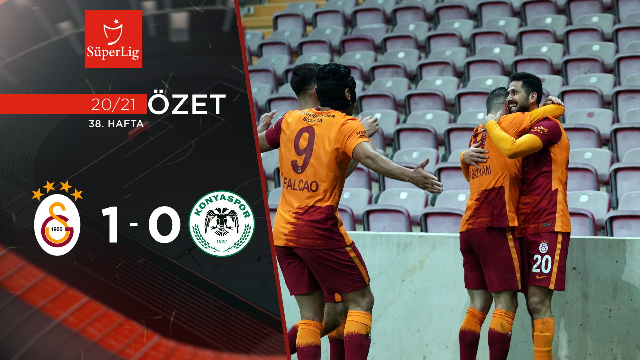 Galatasaray İttifak Holding Konyaspor maç özeti