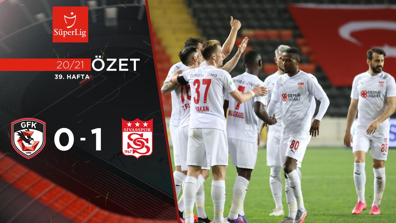 Gaziantep FK Demir Grup Sivasspor maç özeti